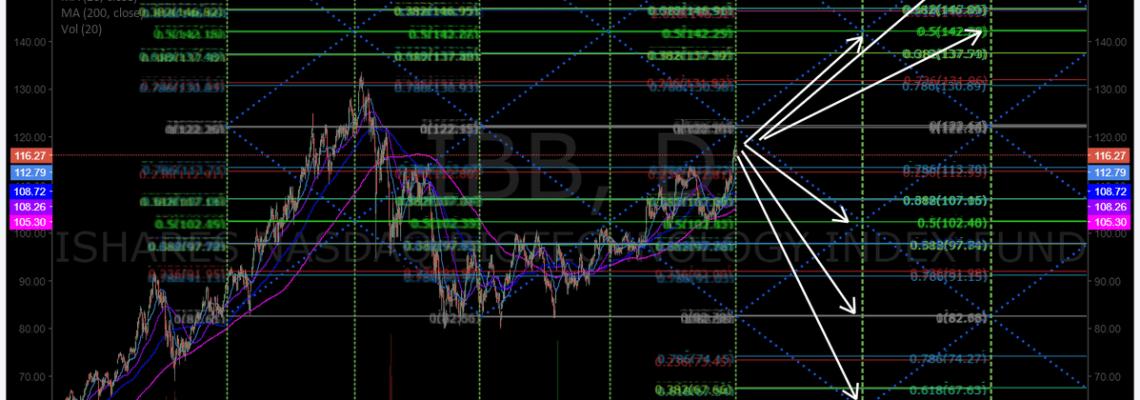 $IBB, Biotech, Fund, Chart, Price, Targets
