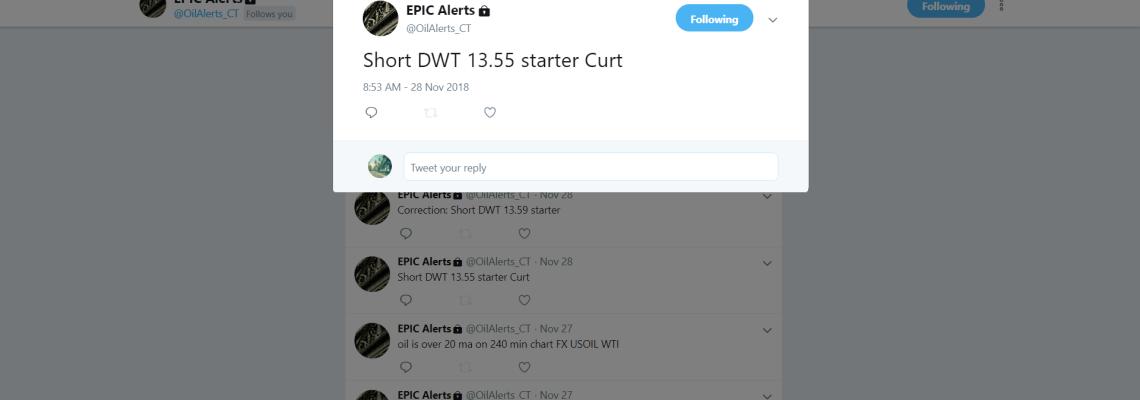 short, trade, alert, premarket, DWT