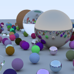 Just some spheres