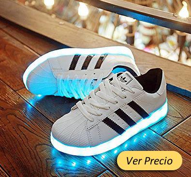 611a2e818 zapatos de luces led