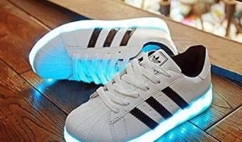 zapatos adidas con luces led en amazon