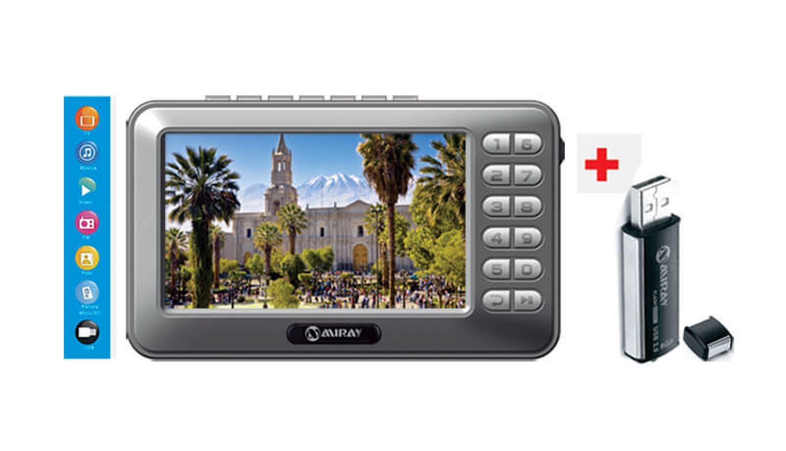 Miray Tv Porttil  Usb 8gb  Fiestas Patrias  Catlogo