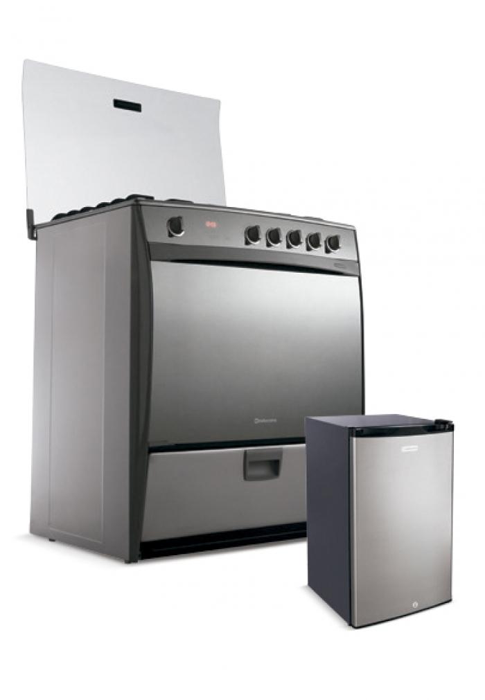Cocina Indurama Montec Quarzo  Friobar Ri150 115 Lts  Connect Linea Blanca  Oechsle
