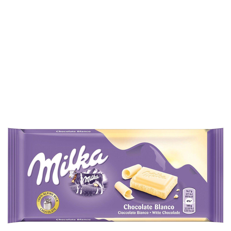 CHOCOLATE MILKA BLANCO 100 G. - Compra Cercana
