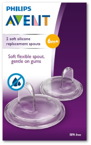 Refil Bico Copo Easy Sip Cup Philips Avent – Kit com 2