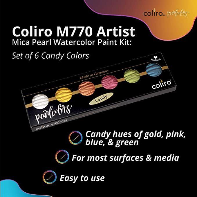 Acuarelas Metalizadas Coliro - M770 Artist