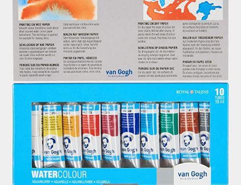Amazon Acuarelas Van Gogh - 10 Tubos