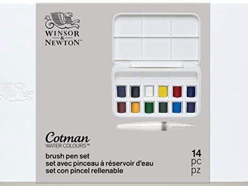 Winsor & Newton Cotman 12 acuarelas