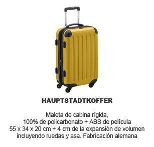 maleta de cabina rigida Hauptstadtkoffer