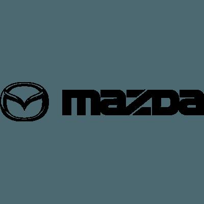 Pegatina logo Mazda en vinilo adhesivo para coche