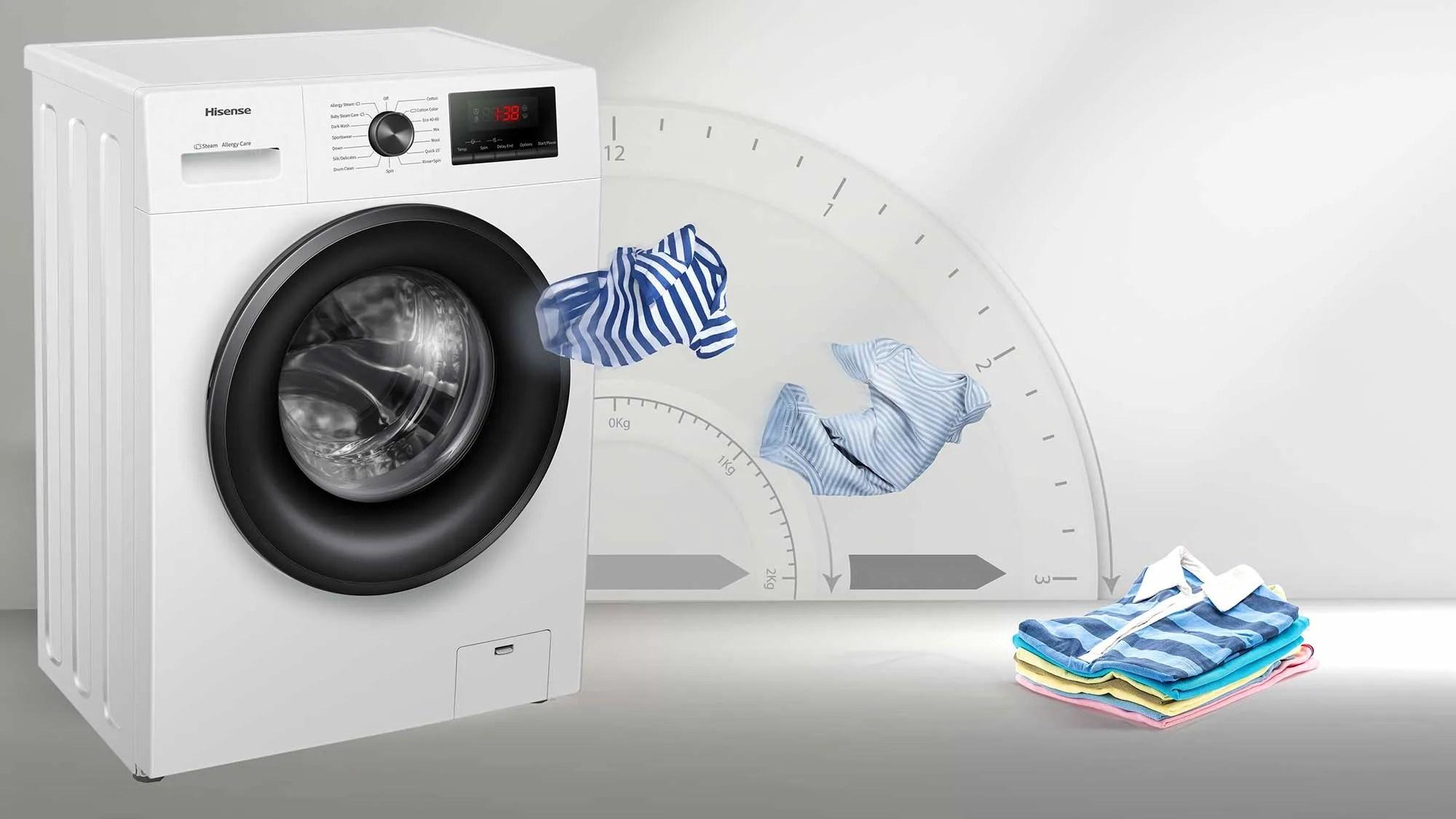 hisense lavadora