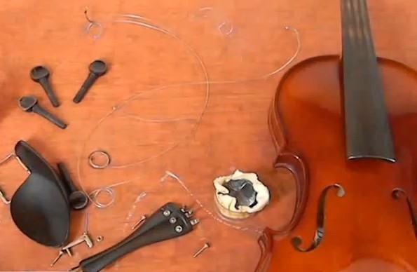 montar un violín, cómo hacerlo paso a paso