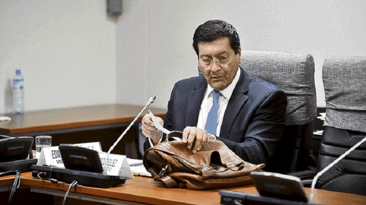 Fiscalía: Hermano de exministro Paredes recibía coimas