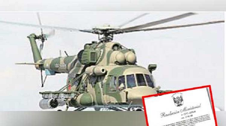 Alertan sobre compra de helicópteros usados