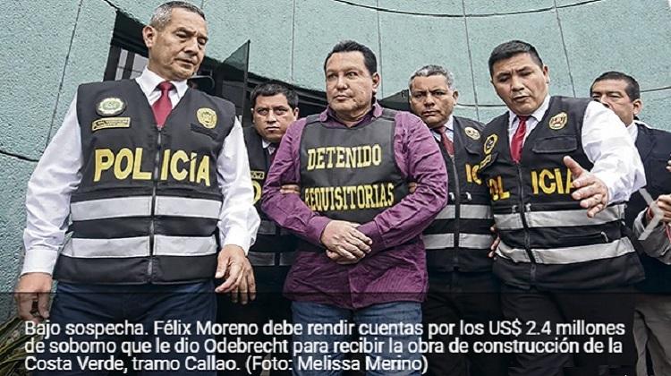 Félix Moreno: sobrina de corrupto exfuncionario chalaco condujo a guarida del exgobernador del Callao