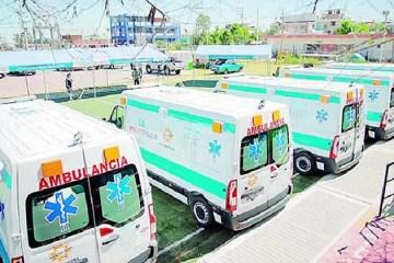 Ambulancias que busca adquirir el GRA no reúne las condiciones técnicas del Minsa