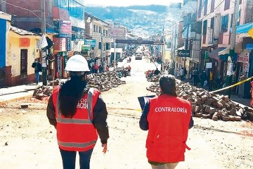 Contraloría advierte irregularidades en obra de centro histórico del Cusco