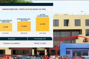 Proyecto del alcalde de Chimbote aumentó su costo en 70 % en apenas un año