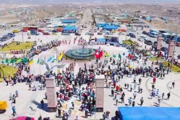 Arequipa: inauguran plaza de S/5 millones sin contar con servicios básicos