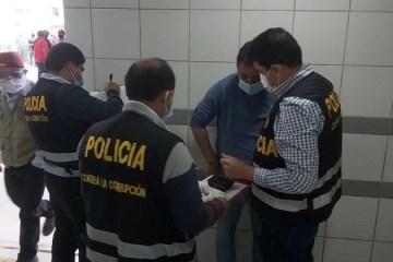 Lambayeque: Policía capturó a dos funcionarios de EsSalud por corrupción