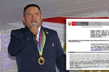 Procuraduría denuncia penalmente a alcalde de Ayabaca por ilegal adelanto de obra por S/ 3 millones