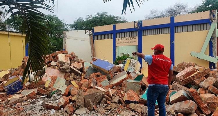 Tumbes: advierten retraso y ausencia de especialistas en obras de colegios en Zarumilla