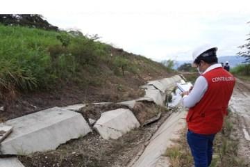 Cajamarca: advierten que obra irrigación de San Antonio de Huarango está en riesgo