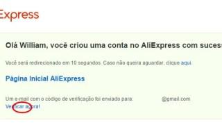 Comprar produtos online da China no AliExpress