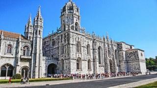 Roteiro de Lisboa: Mosteiro dos Jerônimos. Fiquei sem bateria na hora que cheguei ao mosteiro, então esta foto é do Pinterest.