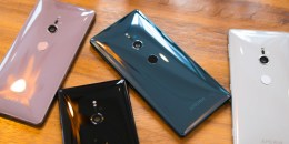 Sony Xperia XZ2: photo by Android Authority