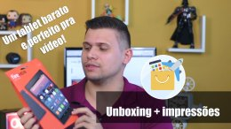 unboxing tablet Amazon Fire HD8