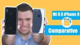 Xiaomi Mi 8 vs iPhone 8