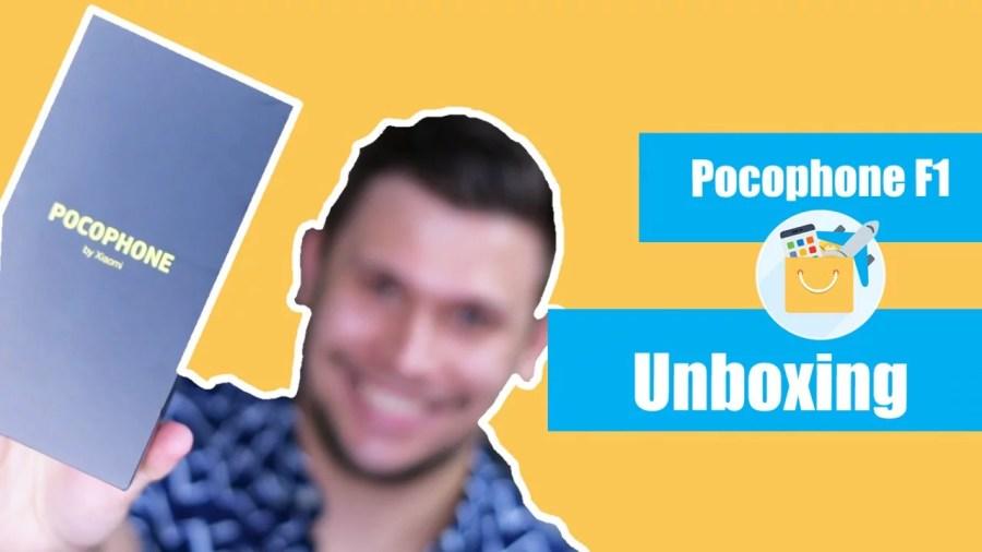 Unboxing Xiaomi Pocophone F1