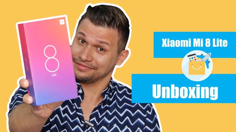 Unboxing Mi 8 Lite