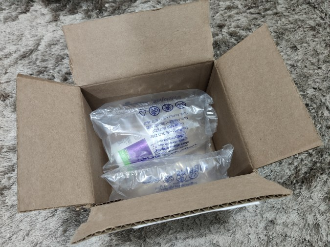 Melatonina comprada na iHerb (openbox)