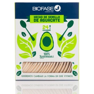 Cuchara Compostable Sin Plástico Costa Rica