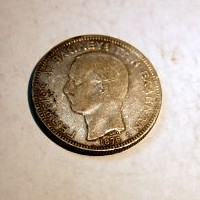 GRECIA JORGE I 5 DRACMAS 1876 A M.B.C.