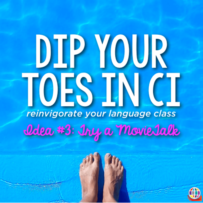Dip your toes in CI: Try a MovieTalk! Tutorial and free resources for language teachers