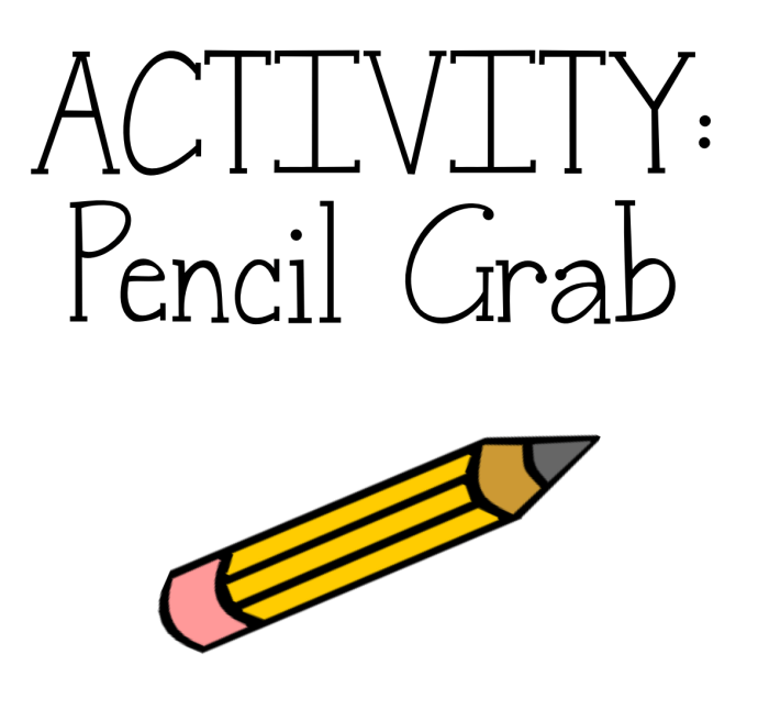 Pencil grab activity to turn any T/F questions into a super fun game your students will love!