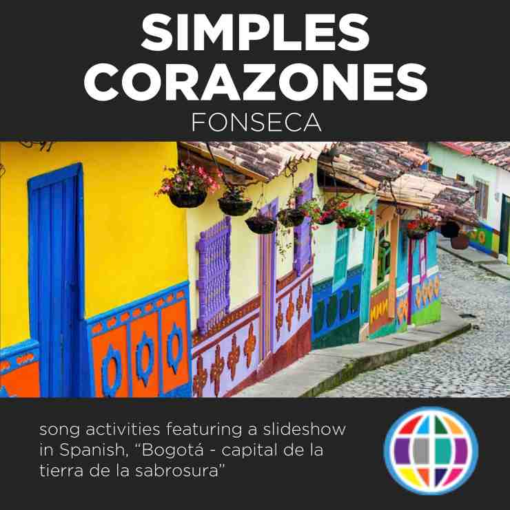 Simples corazones by Fonseca highlights major landmarks in Bogotá, Colombia