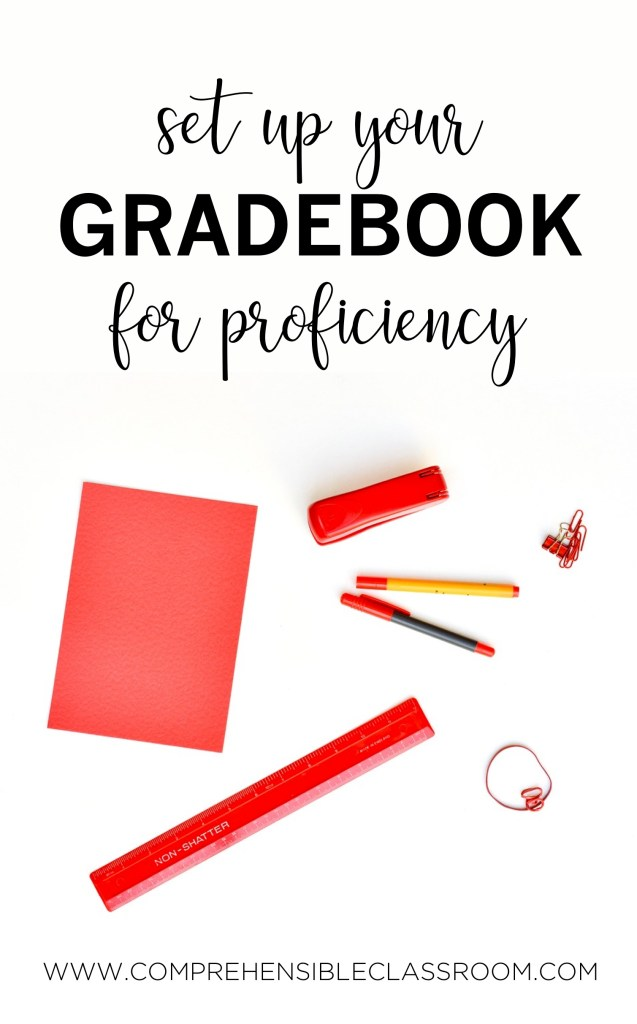 Does your Spanish class gradebook communicate student proficiency?