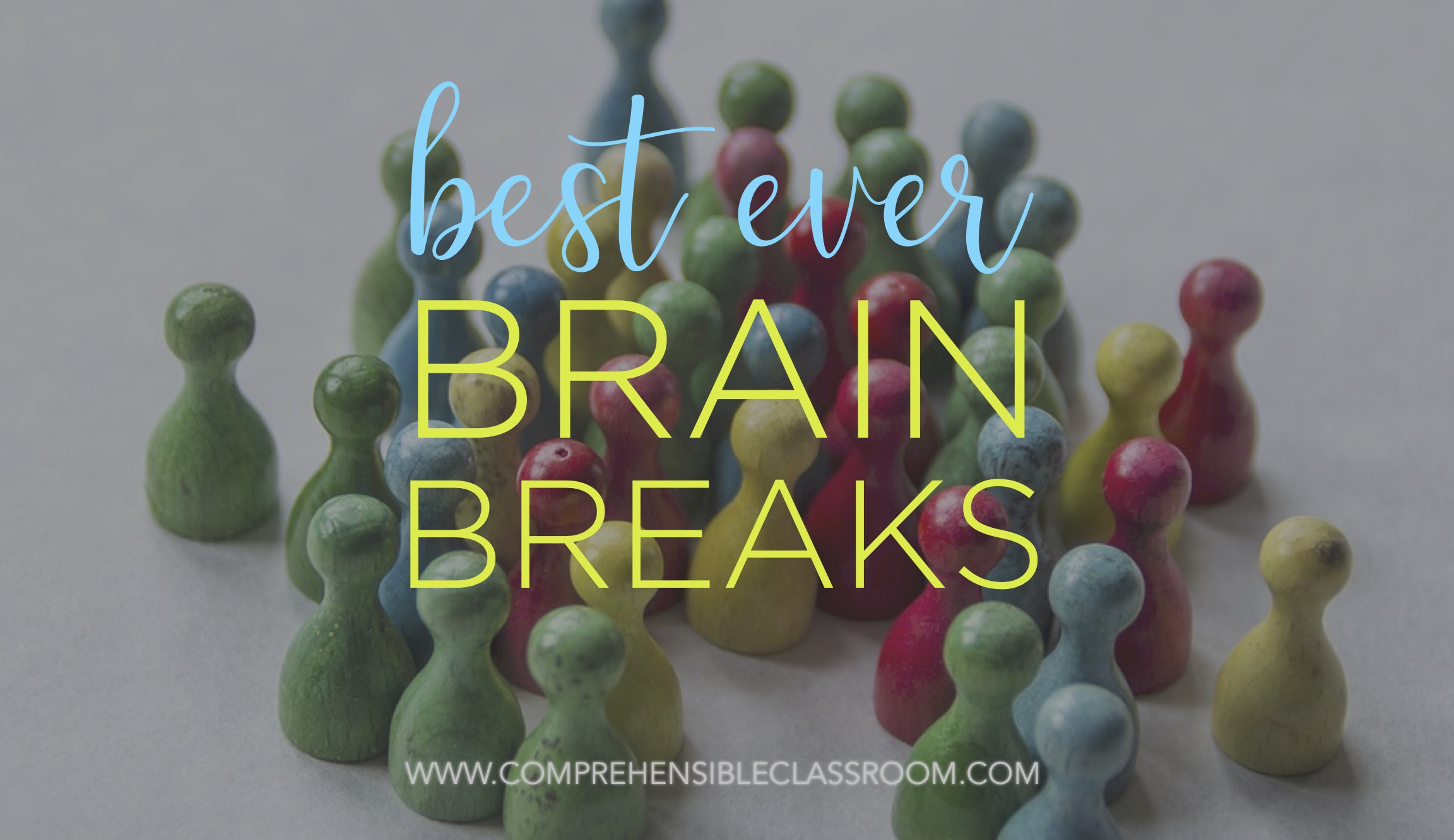 A collection of the BEST brain breaks for any age, any class!!!
