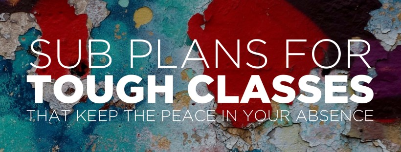 Sub Plans Archives - The Comprehensible Classroom