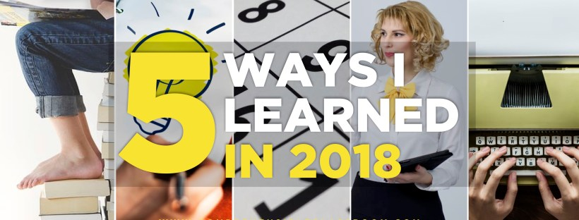 How did you learn and grow as a professional in 2018? Share your #MyFives #langchat to inspire other teachers in the coming year!