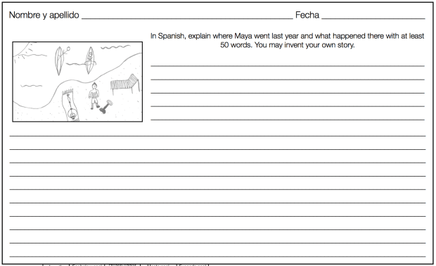 Extend Card Talk with a writing assignment based on students' favorite Card.