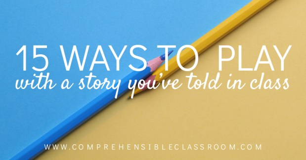 Told a story in class that your students aren't ready to let go of just yet? No problem! Use one of these 15 student-approved activities to keep the story alive!