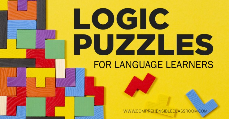Use logic puzzles in langauge classes as a way to provide students with repeated exposure to vocabulary structures. Get easy puzzles in Spanish and French!  Photo by vejaa from Adobe Stock