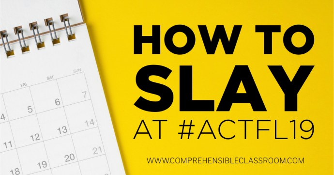 How to slay at #ACTFL19 - recommendations from Martina Bex Image 214539422 by Nuthawut from Adobe Stock