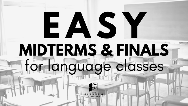 Easy midterms and finals for language classes. Find printable exams for Spanish classes