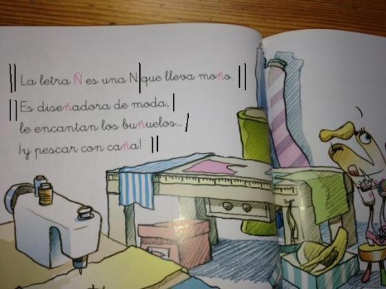 """Texto 1. ©Bruño: """"Las divertidas aventuras de las letras"""""""